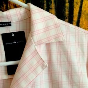 Brandy Melville Leanne pink plaid dress